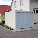 garage in beton